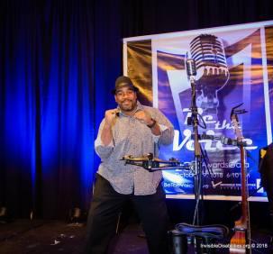 Biff Gore sings at IDA Gala